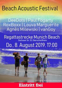 Beach Acoustic Festival Plakat