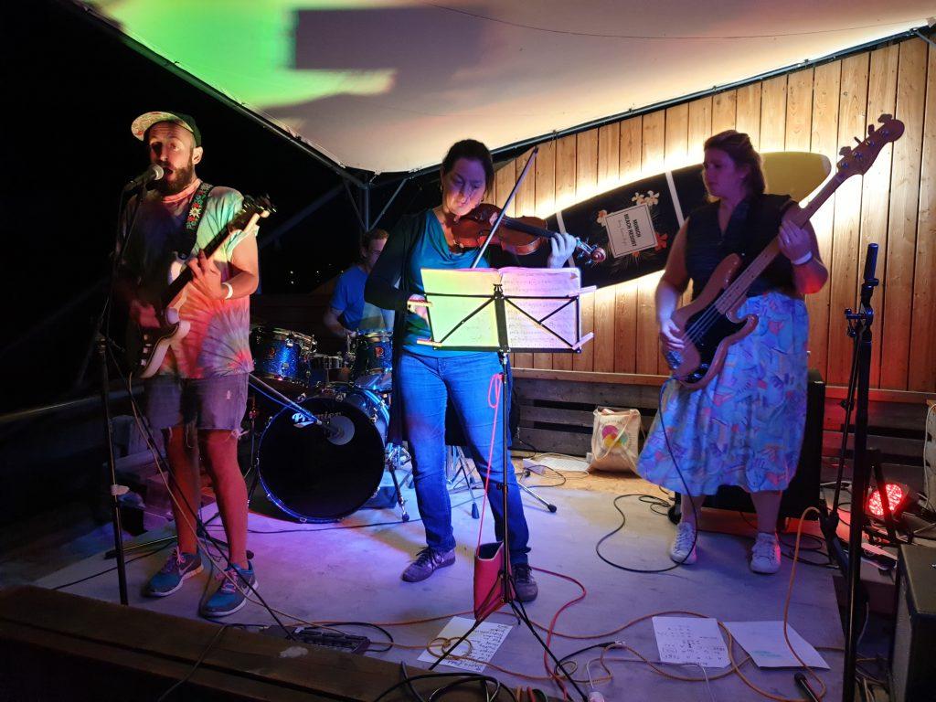 vanGoy auf dem Beach Acoustic Festival 2019