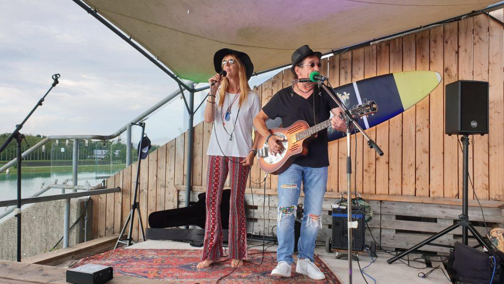 Nomi&Mac live auf dem Beach Acoustic Festival 2020.